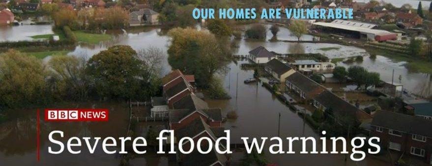 Derbyshire Floods on BBC News Website